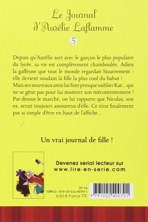 Le journal d'Aurélie Laflamme - Tome 5 : Championne