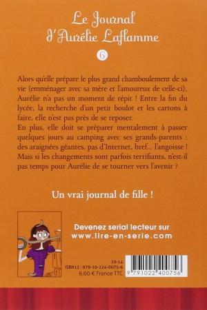 Le journal d'Aurélie Laflamme - Tome 6 : Ca déménage !